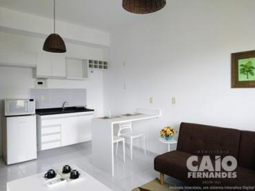 FLAT SEMI-MOBILIADO EM PONTA  NEGRA - Foto