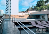 Apartamento de frente para o mar em Areia Preta - Foto